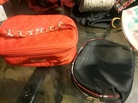 Red MaryKay makeup bag+black/red makeup pouch   Corpus Christi, 78412