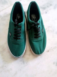 pair of green Vans low-top sneakers New Delhi, 110077