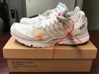 DS The 10: Nike Air Presto Off White sz. 13 Kensington, 20895