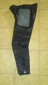 Leather motorcycle pants sz med Clifton, 81520