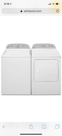 Whirlpool Washer and Dryer Ashburn, 20147