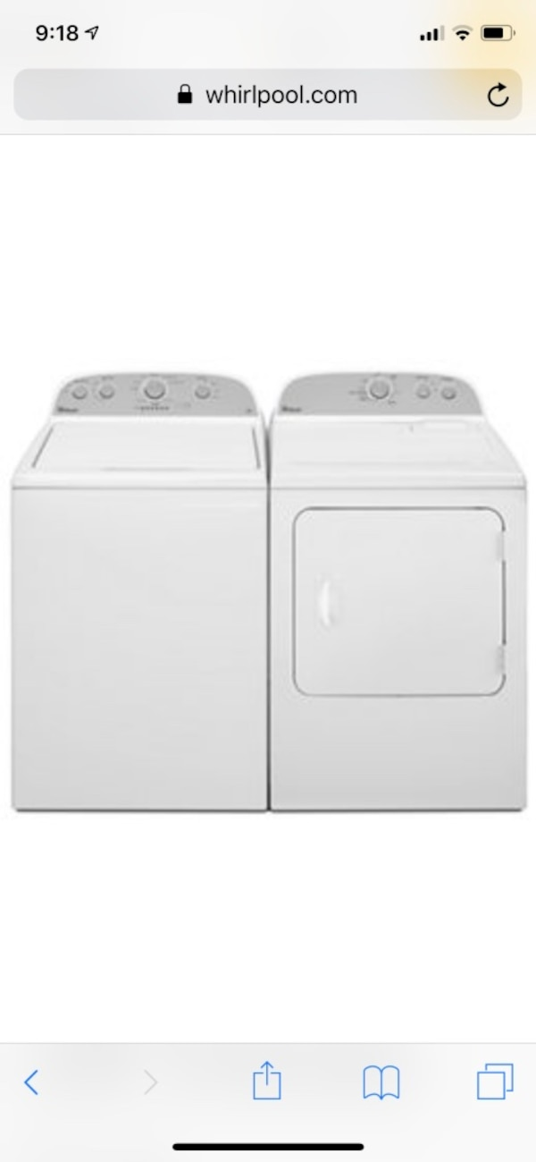 Whirlpool Washer and Dryer 9dbdbfe6-4a16-48c9-9a62-58958dabe702