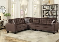 Brand New Chocolate Sectional Sofa Austin