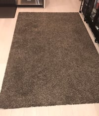 "IKEA Adum High Pile Rug: 4'4"" x 6'5"" in Light Brown Washington, 20002"