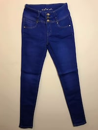 blue denim straight-cut jeans Woodbridge, 22191
