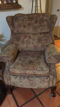 Fabric Recliners (2 matching)
