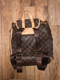 brown and black Louis Vuitton leather handbag Tempe, 85283