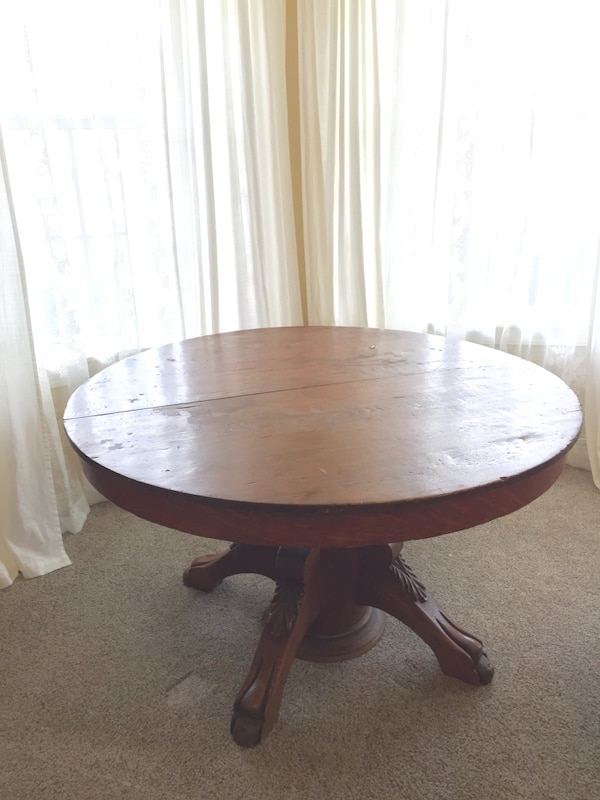 Used Antique Round Dining Table For Sale In Owasso Letgo