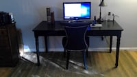 Pottery Barn Printer's Writing Desk/Artisanal Black