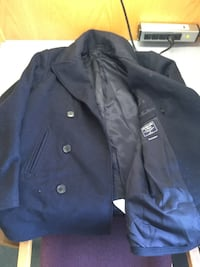 Abercrombie peacoat mens small navy NWOT Silver Spring, 20910