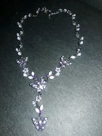 Butterfly purple necklace Corona, 92882