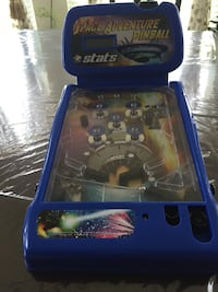 blue and yellow space adventure pinball table Charlotte, 28277