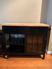 Butcher Block Kitchen Cart  Arlington, 22201