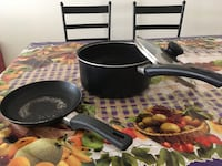 2 non stick pan one with led Sterling, 20165