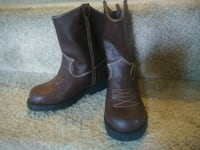 pair of brown leather boots San Jose, 95110
