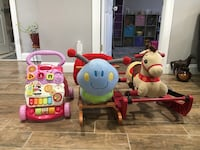 Baby toys $12 each or $25 for all Linden, 07036