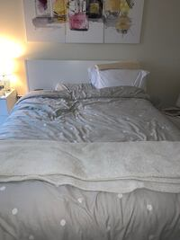 Selling- Ikea queen bed and mattress  Washington, 20016