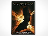 Batman Begins (DVD, 2005)  KITCHENER