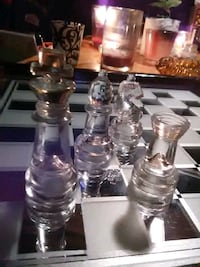 Beautiful Glass Chess set Edmonton, T6K 0S3