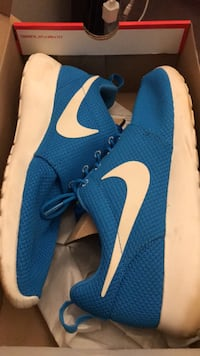 Blue-and-white nike running shoes Alexandria, 22304