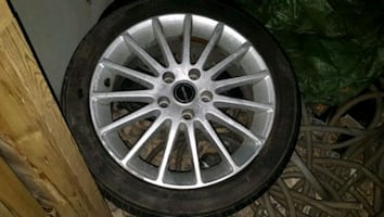 Ls Borbet Rims set of 4 with tires