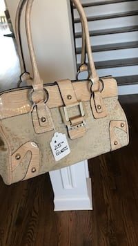 Beige Guess Bag