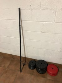 Weights and bar