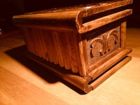 Antique Handmade Magic / Secret Wooden Box Portland, 04101