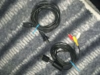 PS2 power and tv connect cords Sykesville, 21784
