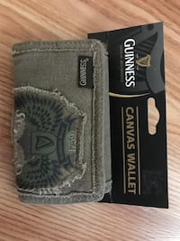 GUINNESS CANVAS WALLET  Peterborough