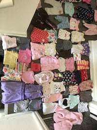 Baby clothes 0-3 months and newborn