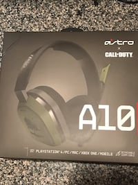 ASTRO A10 Call of Duty gaming headset Fairfax Station, 22039