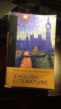 The Norton Anthology of English Lit., 8th Ed. Vol 2 Los Angeles, 90028