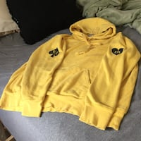 Fucking Awesome Hearts Hoodie (Yellow/Small) Albany, 12203