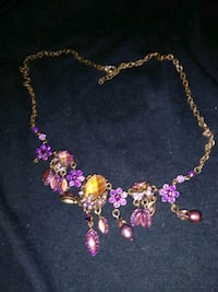 pink and purple beaded necklace Houma, 70363
