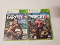 Xbox 360 Farcry 3 and 4 combo East Lansing