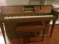 Upright 88 note , spinet player piano with chair Odenton, 21113