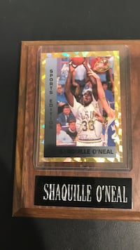 Shaquille O'Neal player card Oyster Bay, 11714