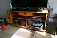 brown wooden stand.  Toronto, M2J 1A8