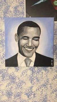 Obama Painting Ashburn, 20147