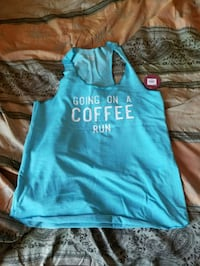 teal and white Hollister tank top San Diego, 92114