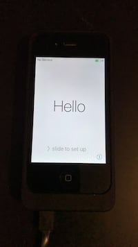 Black iPhone 4s WITH battery case