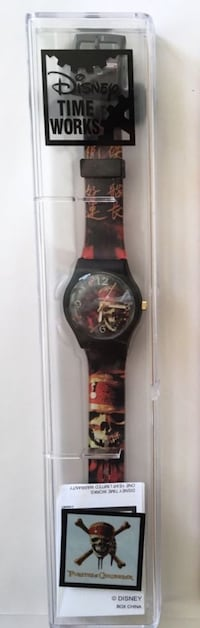 disney time works swatch style PIRATES of the CARIBBEAN watch - new Tustin, 92782