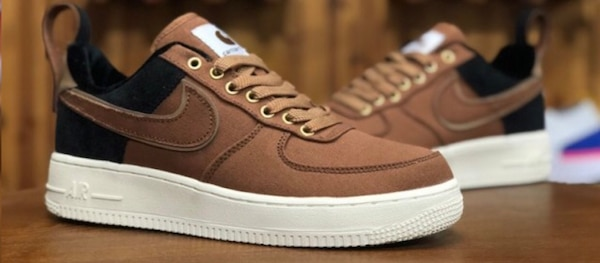 buy popular d0df5 93cde Nike Air Force 1 Low Flax Outdoor Green Gum