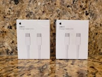 Apple - USB-C (Charge Cable) 2m - sold sepreately 16$ or together $29