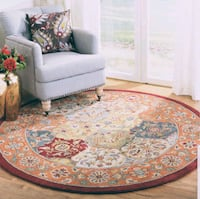 Brand new area rug 8ft round wool Mississauga, L5J 4E6