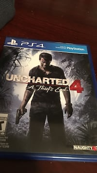 Uncharted 4 PS4 game case Woodstock, N4S 5S8