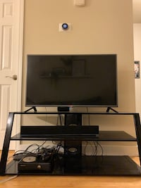 "42"" LG TV and 3 Tier Entertainment Center Salt Lake City, 84108"