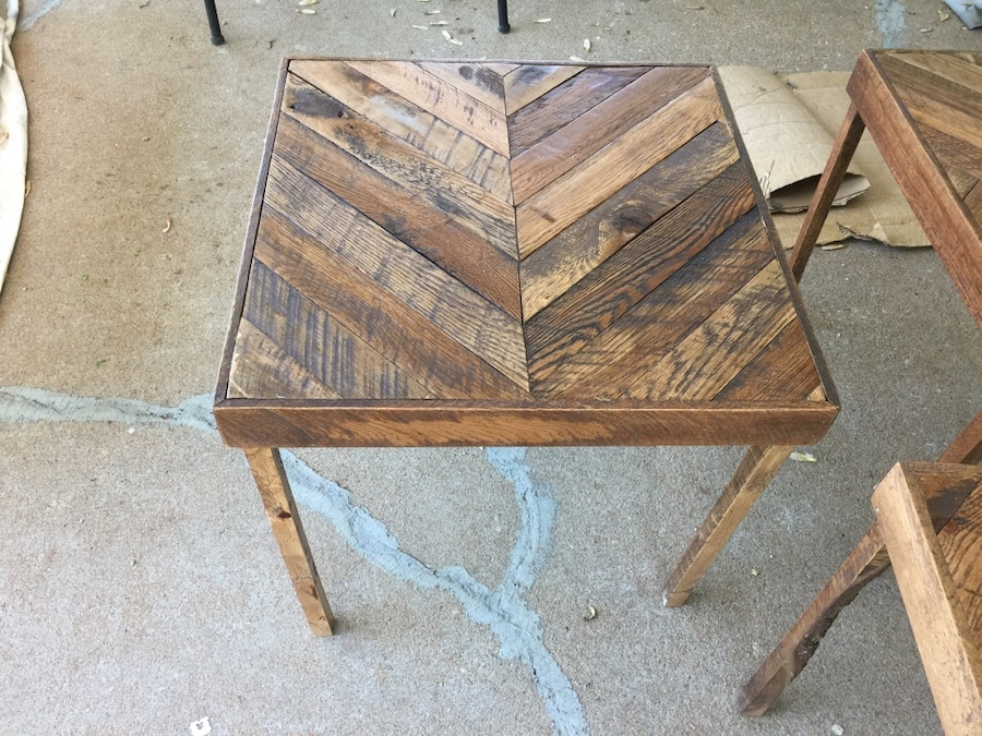 Letgo end tables made to order th in sand springs ok