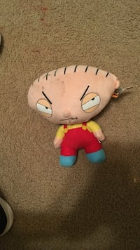 Family guy character plush toy